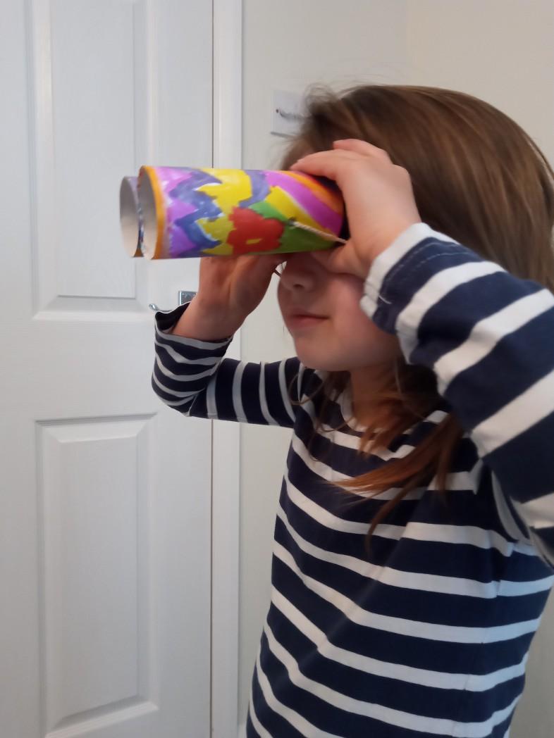 Making binoculars