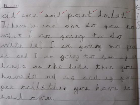 Fantastic writing